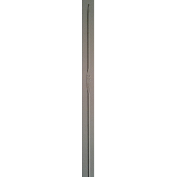 Aguja aluminio 3 mm