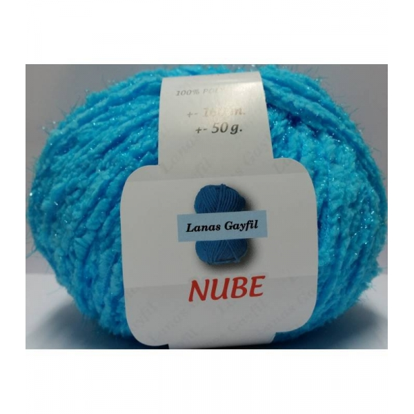 NUBE of Brilliant. color of Turquoise color