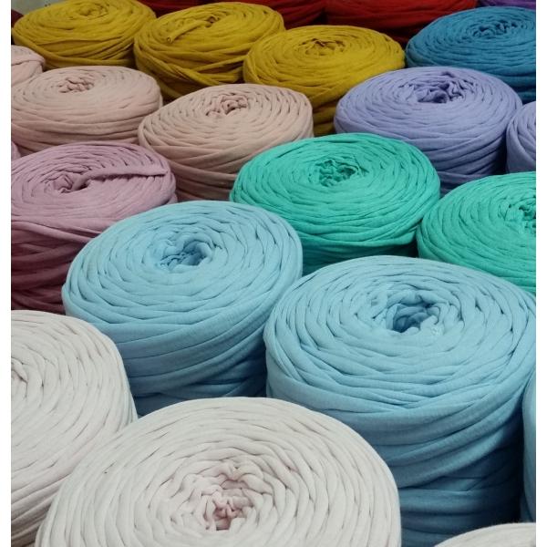 pack´s 8 bobinas trapillo colores lisos Ø13 cm